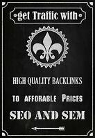 1000 Backlinks for Any Website using blog comme  - SEO