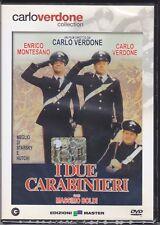 Dvd **I DUE CARABINIERI** con Carlo Verdone Enrico Montesano M. Boldi nuovo 1984