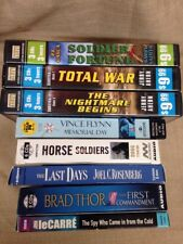 8 Mixed Lot CD Audiobooks, Memorial Day-Horse Soldiers-Last Days-Total War + 4