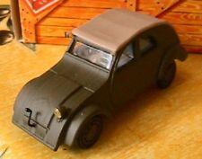 CITROEN 2CV PROTOTYPE 1939 NOREV 1/43 BOITE CARTON VERT HACHETTE DEUCHE