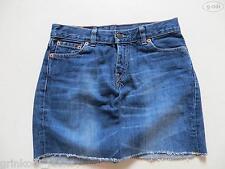 Levi's® Mini Rock Jeansrock Skirt Gr. XS, Hippie Denim Unikat aus 544 Flare 26 !