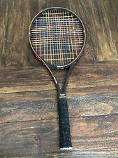 "Vintage Wilson Pro Staff Graphite W/ Kevlar PWS Largehead Racquet W/ Case 4 1/2"""