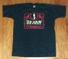 ✰ ViNtAgE Syd Straw 1996 War & Peace Concert Tour 2-Sided Black Xl T-Shirt New ✰
