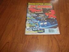POPULAR HOT RODDING-CAMARO/MUSTANG SPECIAL 1989 + Bonus Magazine
