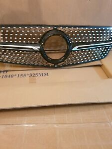Mercedes Vito w447 tourer diamond front grill UK Stock New exclusively for vito