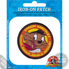 Speedy Gonzales Iron On Patch. Looney Tunes Mexico Mouse Arriba Cool Cartoon