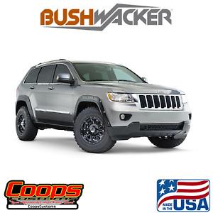 Pocket Style Bushwacker Fender Flares 4pc Fits 2011-2017 Jeep Grand Cherokee