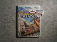 SimCity Creator Sim City Nintendo Wii 2008 Simulation Game