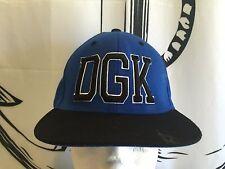 Authentic DGK DIRTY GHETTO KIDS New Mens Adjustable Blue/Black KAYO CAP HAT