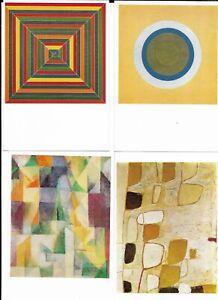 Modern art postcards