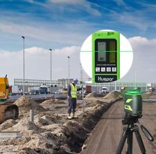Huepar Laser Level Self-Leveling Measuring Tools 12 lines Green Receiver 360 kit