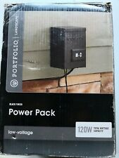 Portfolio 120-Volt Multi-Tap Landscape Lighting Transformer with Digital Timer