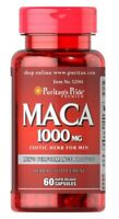 MACA EXTRACION 1000mg MEGA STRONG (60 caps) / PURITANS PRIDE / Free P&P POLAND