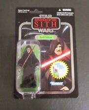 Darth Sidious FOIL 2010 STAR WARS Vintage Collection VC12 MOC