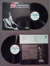 LP 33 Giri ART TATUM Pure Genius Atlantis ATS 3 JAZZ 1986 Piano