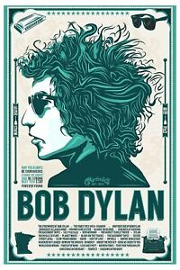 Bob Dylan * Sun Glasses * Promotional Poster   12x18