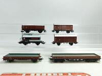 BE530-1# 6x Märklin H0/AC Güterwagen DB: Kesselwagen Texaco+313/1+248680 etc