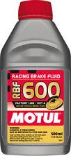 Motul RBF 600 1/2L Brake Fluid Racing DOT 4