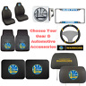 NBA Golden State Warrior Pick Your Gear Automotive Accessories Official Licensed