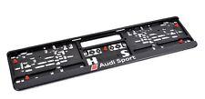 Original Audi Sport Kennzeichenunterlage Kennzeichenhalter 3291401400