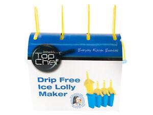 2 X 4 Cell Ice Cream Moulds Mould Freeze Ice Pop Pops DIY Maker Frozen Ice Block