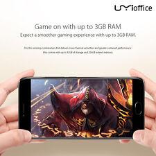 "UMIDIGI C Note 4G 13MP 3800mah Mobile Phone MTK6737T Quad Core 5.5"" 1080P 3G+32G"