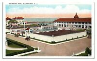 Swimming Pool, Allenhurst, NJ Postcard *5Q8