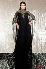 ELEGANT Moroccan Kaftan Long Maxi Dress Abaya Jilbab Islamic Kheleeji jalabiya35