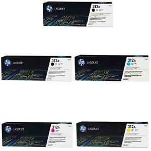 GENUINE HP312X / HP312A TONER CARTRIDGES, CHOICE OF 4 COLOURS - SENT QUICKLY