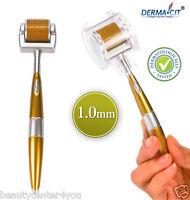 ZGTS® Titanium Premium Micro Derma Roller Wrinkles, Acne, Scar 1.0mm US Seller