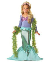 Girl Disney The Little Mermaid Ariel Costume dress for Party Size 2-7 Years