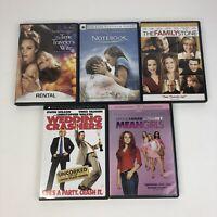 Rachel McAdams 5 DVD Lot Wedding Crashers The Notebook Mean Girls Family Stone
