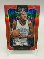 Kevin Durant 074/149 Select 2015 2016 Red Prizm Refractor #66 OKC Thunder