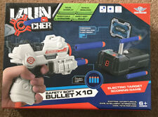Launcher Foam Blaster Gun And Digital Shooting Target