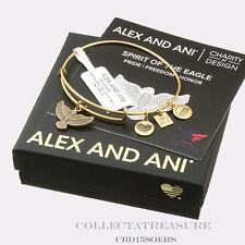 Authentic Alex and Ani Spirit of the Eagle CBD Rafaelian Gold Bangle