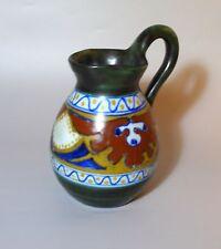 Nice Old Art-Nouveau Gauda Holland Pottery Jug
