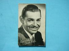 1947/66 TELEVISION & ACTORS EXHIBIT CARD PHOTO CLARK GABLE NICE!! EXHIBITS