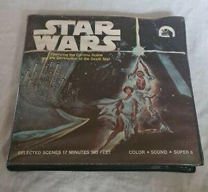 Star Wars Super 8 mm Film- Plastic Case- Ken Films 1977- Vintage- Very Rare