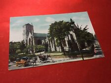 OLD TOWN AND CHURCHES - DUNDEE VINTAGE POSTCARD