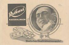Y4007 ROTBART Rasierklingen - Pubblicità d'epoca - 1925 Old advertising