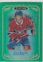 2019 UD STATURE ROOKIE /149 CALE FLEURY MONTREAL CANADIANS #181