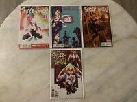 SPIDER GWEN #1 1ST SOLO SERIES 2015 LOT VARIANTS