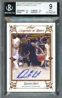 Damian Lillard Rookie 2012 Leaf Legends of Sport #BADL1 BGS 9 (9.5 9.5 9.5 8)