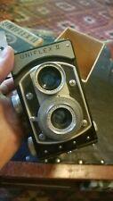 Uniflex 2 vintage 1948 reflex film camera, in box w/manual, Rc 450, made in Us
