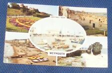 GREETINGS FROM WEYMOUTH 1966 POSTCARD