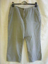 Ladies Jeans/Chinos - Principles, size 14 PETITE, straight, light olive - 7843