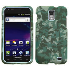 AT&T SAMSUNG GALAXY S2 SKYROCKET HARD SHELL CASE DIGITAL CAMO GREEN