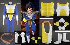 Dragon Ball Z Vegeta I Man 6 piece Cosplay Costume Custom standard size .