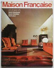 revue LA MAISON FRANCAISE n° 246 avril 1971 : Chambres d'enfants, Décoration