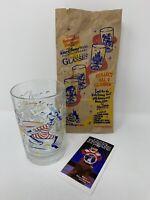 "McDonalds Walt Disney World 25th Anniversary 5"" GOOFY Glass ""Remember The Magic"""
